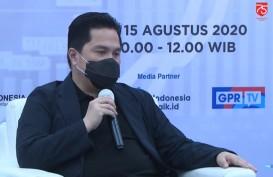 Bagikan 34 Juta Masker, Erick Thohir Apresiasi Kejaksaan dan TNI-Polri
