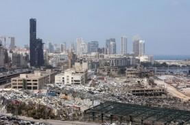 Pelabuhan Beirut Kembali Terbakar, Belum Ada Korban…