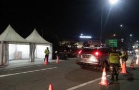 Posko PSBB Gerbang Tol Serang Timur dan Serang Barat Diaktifkan