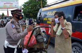 Polisi Razia Warga Tak  Pakai Masker Mulai 21 September 2020