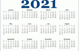 Berikut Daftar Lengkap Libur Nasional dan Cuti Bersama 2021