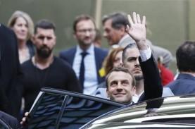 Kasus Infeksi Covid-19 Terus Naik, Presiden Prancis…