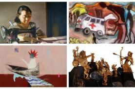 PAMERAN DARING SOLIDARITAS PERUPA : Ketika Seni Menyikapi…