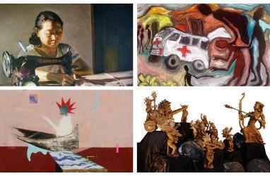 PAMERAN DARING SOLIDARITAS PERUPA : Ketika Seni Menyikapi Pandemi