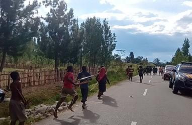 16 Orang Luka Terpanah saat Perang antar Kampung di Jayawijaya
