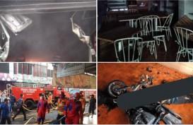 Toko Roti Trubus Yogyakarta Terbakar, 1 Orang Tewas di Samping Motor
