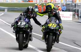Hasil FP 3 MotoGP Misano: Rossi Berkuasa, Diikuti Vinales dan Quartararo