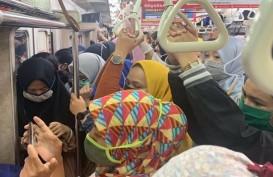 Jakarta PSBB Lagi, KRL Buka Jendela di Jam Sibuk