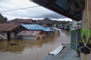 Banjir Kembali Terjang Melawi Kalbar, Satu Warga Meninggal Dunia