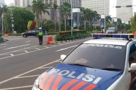PSBB Mulai Berlaku Hari Ini, Lalu Lintas di Jakarta…