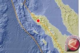 3 Gempa Magnitudo di Atas 5 Terjadi Sejak Kemarin