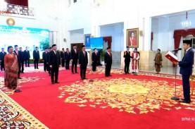 Jokowi Lantik Mantan Mendag Hingga Eks Direktur Metro…