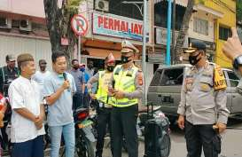27 Warga Palembang Terkena Razia Masker di Keramaian