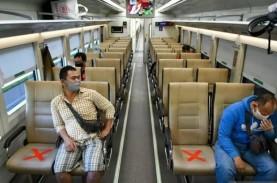 PSBB DKI Jakarta, Ini Syarat Naik Kereta Api Jarak…