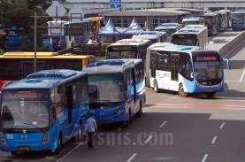 PSBB Jakarta, Pemprov DKI Sediakan Bus Khusus Tenaga…