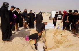 Makam Korban Covid-19 di Irak Digali Beberapa Bulan Setelah Meninggal