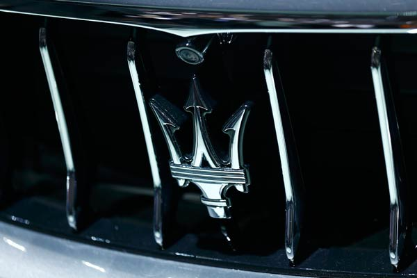 Logo Maserati.  - Reuters