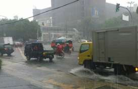 Cuaca Jakarta 15 September, Hujan Ringan Guyur Jaksel dan Jaktim