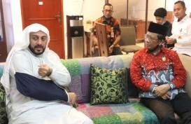 Mahfud MD: Kasus Penusukan Syekh Ali Jaber Akan Diusut Tuntas