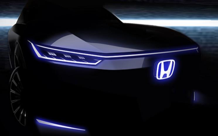 Honda akan memamerkan konsep mobil listrik pertama yang akan diproduksi massal di Beijing Motor Show 2020.  - Honda