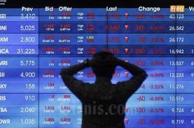 IHSG Berbalik Melemah 1,18 Persen, Investor Asing…