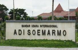 PSBB Jakarta Hari Pertama, Penumpang di Bandara Adi Soemarmo Menurun