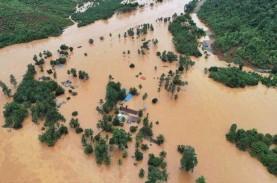 Banjir Bandang Landa Sulawesi Tengah, Tiga Rumah Warga…