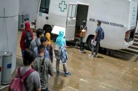 Viral Belasan Ambulans Antre Masuk Rumah Sakit Darurat…