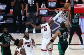 Hasil Final NBA Wilayah Timur: Heat Unggul 1-0 Atas…