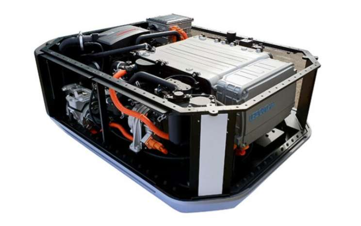 Sistem Sel Bahan Bakar Hyundai. Dengan menggunakan sistem sel bahan bakar Hyundai, perusahaan berencana untuk memproduksi sistem catu daya stasioner yang akan digunakan untuk membangun listrik pada waktu puncak.   - Hyundai