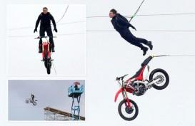 Mission Impossible 7, Tom Cruise Loncat ke Jurang Pakai Honda CRF 150L?
