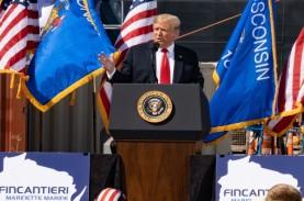 Lagi Kampanye, Trump Sebut Covid-19 Bisa Diatasi Tanpa…