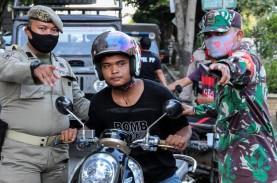 Operasi Yustisi PSBB Jakarta, 9.734 Pelanggar Diberi…