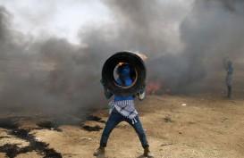 Balas Serangan Roket, Israel Hantam Gaza dengan Rudal