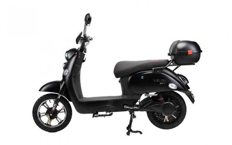 Volta 301, sepeda listrik ini memiliki daya tempuh 40 Km dan mampu berlari dengan kecepatan maksimal 40 Km/Jam.  - Volta Indonesia