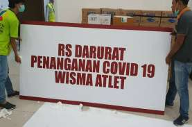 Pasien Corona Dirawat di RSD Wisma Atlet Bertambah…