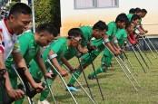 Foto-Foto Tim Nasional Garuda INAF Berlatih Menembus Keterbatasan