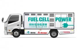 Toyota-Denyo Uji Mobil Pembangkit Listrik Sel Bahan Bakar