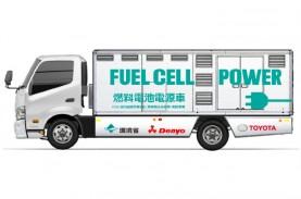 Toyota-Denyo Uji Mobil Pembangkit Listrik Sel Bahan…