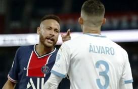 Neymar Diskors Dua Pertandingan Setelah Kartu Merah vs Marseille