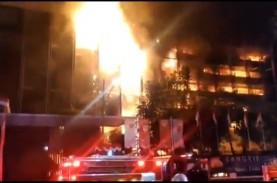 DPR Minta Polri Ungkap Otak di Balik Kebakaran Gedung…