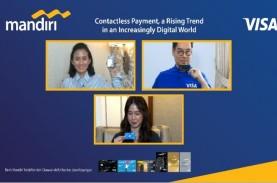 Visa dan Bank Mandiri Dorong Adopsi Kartu Contactless