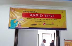 3.845 Penumpang Kereta Api di Madiun Manfaatkan Rapid Test Corona