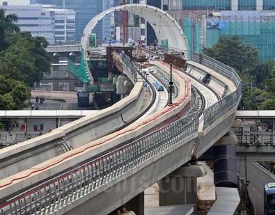 Bank Mandiri Tambah Fasilitas Kredit Sindikasi ke Proyek LRT Jabodebek
