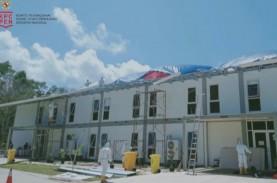 Usai Diterjang Puting Beliung, Perbaikan RSKI Pulau…