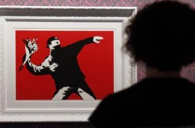 Banksy Kalah dalam Pertarungan Trademark dengan Perusahaan Kartu Ucapan