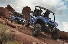 Buat Kendaraan Rekreasi, Yamaha Luncurkan ROV Wolverine RMAX-1000