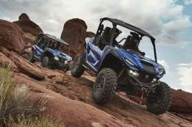 Buat Kendaraan Rekreasi, Yamaha Luncurkan ROV Wolverine…