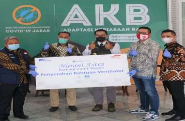 Astra Financial Berikan Bantuan 3 Ventilator untuk Warga Jawa Barat