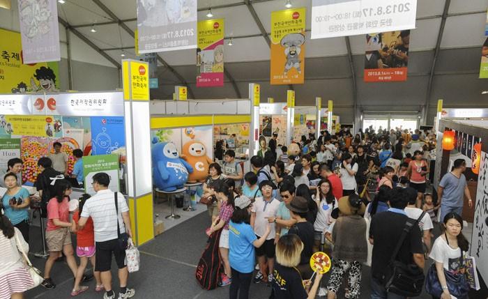 Bucheon International Comic Festival. - Korea.net